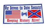Civil War Reenactor  Car Van Or Truck Sticker